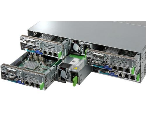 Fujitsu PRIMERGY CX400 S2 rear