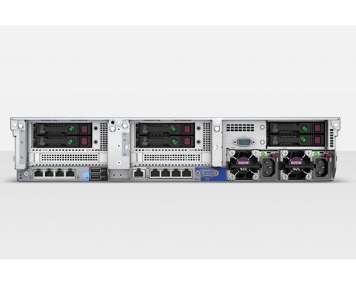 HP DL380 2U задняя часть с SFF портами