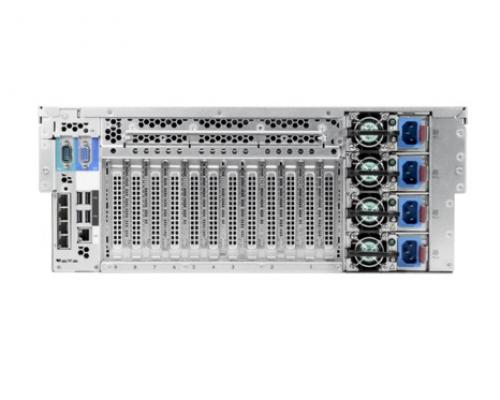 HPE ProLiant DL580 Gen9 rear
