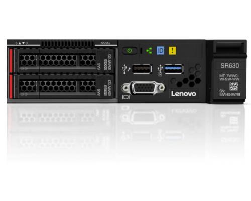 Lenovo SR630 1U передние порты