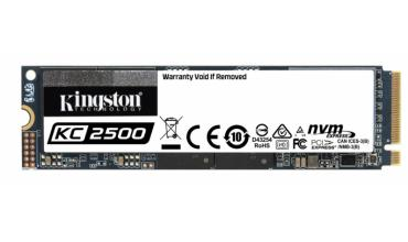 Kingston KC2500 NVMe